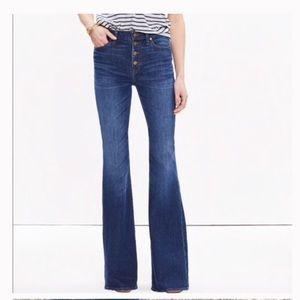 Madewell | Flea Market Flare Jeans (Hemmed)